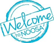 Welcome to Noosa badge