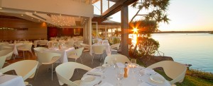 Ricky's Restaurant on the river Noosa
